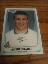 ARCHIE BRADLEY~2011 1ST BOWMAN CHROME #BDPP14~ARIZONA D'BACKS