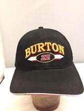 New W/ Tag  NASCAR WARD BURTON 22  Strap Back Hat