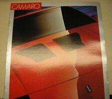 1987 Chevrolet Camaro Sales Brochure Original GM