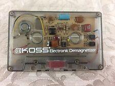 VHTF Vintage KOSS Electronic Demagnetizer Cassette Tape Audio UNTESTED