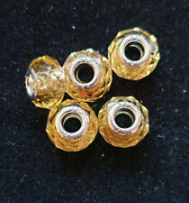 5 GOLD BEADS