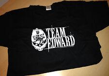 Promotional T-Shirt: TWILIGHT SAGA Team Edward Kristen Stewart Robert Pattinson