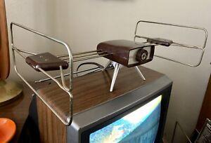 Rare Channel Master Showman Antenna TV & FM  Space Age UFO Set Top Clean Vtg MCM