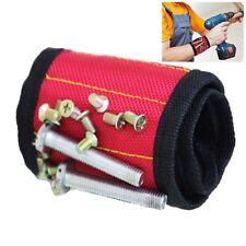 Magnetic Wristband Belt Screw Scissor Holder Tool Storage Wrist Drill Bracelet