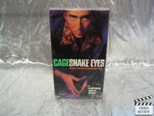 Snake Eyes Vhs Nicholas Cage New