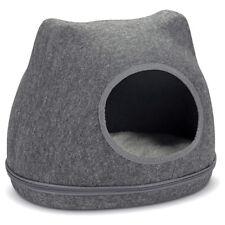 Karlie Casa de Gato / Cueva para Gato Yupik Fieltro Gris, Nuevo