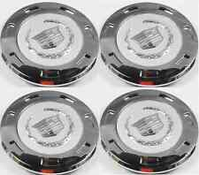 "4pcs. 2007-2015 CADILLAC ESCALADE PLAIN CREST 22"" WHEEL CENTER CAP 9596649"