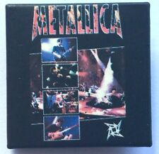 METALLICA On Stage Ninja Square Pin Badge Unusual Rare(NOT shirt patch lp)