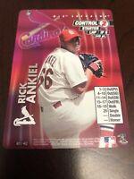 2001 MLB Showdown Rick Ankiel Foil #401 St. Louis Cardinals