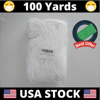 "100 Yards Round Elastic Cord Band 3mm (1/8"") 