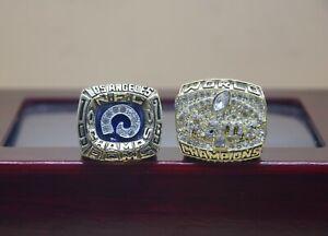 2 Pcs Ring 1979 1999 St Louis Rams Championship Ring ---