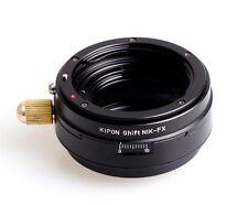 Kipon Shift Nikon F mount AI AF lens to Fujifilm Fuji X-Pro1 X-E1 M1 FX Adapter