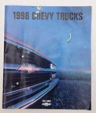 Chevy Chevrolet Truck  1998 Sales Broucher