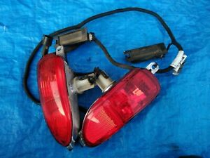 CORSA C Pair Rear Fog Lights Plus Number Plate Lights With Loom Lamp
