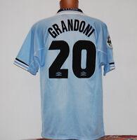 maglia lazio match worn umbro 1997 1998 cirio GRANDONI 20 XL serie A