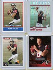 """2004 Matt Schaub (10) card Football """"rookie"""" lot"""