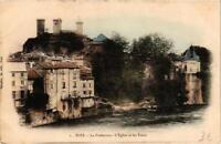 CPA Foix La Préfecture, L'Eglise et les Tours (647038)