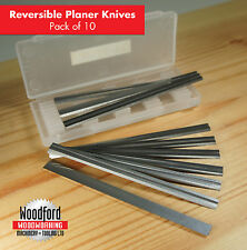 10Pcs 82mm Reversible Planer Blades IN Box For MAKITA-BOSCH-B&D-HITACHI