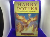 Harry Potter and the order of the Phoenix Hard back Book First edition