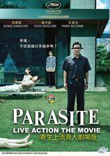 DVD Korean Movie PARASITE Live Action The Movie (English Subtitle) Region Free