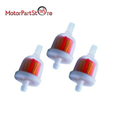 3 pc Gas Fuel Filter Go Kart Moped Scooter Dirt Bike ATV TaoTao SUNL chinese x