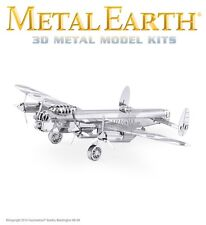 Fascinations Metal Earth Avro Lancaster Bomber Airplane Laser Cut 3D Model