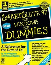 SmartSuite 97 for Windows for Dummies by Jan Weingarten and Michael Meahdra...