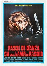DEATH CARRIES A CANE Italian 2F movie poster 39x55 GIALLO 1973