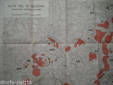GEOLOGIA_TERRENI_ARENARIE_ARGILLE_SCAGLIE_SCISTI_ALTA VAL DI SECCHIA_LIGONCHIO