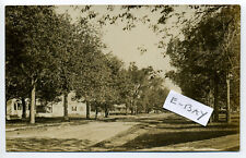 Templeton MA Mass RPPC real photo 1910 street view, homes
