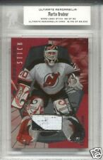 2000-01 ITG Ultimate Martin Brodeur Game Used Stick /90