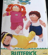 Cabbage Patch Doll Clothes Pattern Gym Suit Sweatsuit jazzercise sports B3920