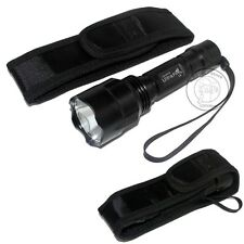 Ultrafire C8 18650 CREE XM-L L2 LED 1Mode 1200 Lumens Flashlight + Holster Set