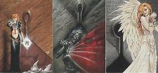 Joseph Michael:Linsner Dawn& Beyond-1995-Lot 23-3 Cards
