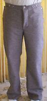 Confederate Jean Wool Pants, Gray w/ Brown, Civil War