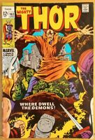 The MIGHTY THOR #163 (1969 MARVEL Comics) ~ LOW GRADE Book