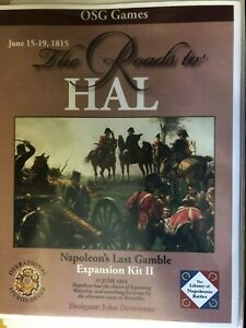 THE ROADS TO HAL , JUNE 15-19 1815 - NAPOLEON'S LAST GAMBLE EXPANSION KIT II