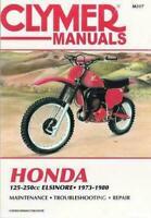 CLYMER SERVICE REPAIR BOOK MANUAL HONDA CR MR 125 175 250 M R ELSINORE 1973-1980