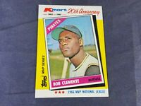 S4-6 BASEBALL CARD - ROBERTO CLEMENTE PITTSBURGH PIRATES - 1982 K MART (TOPPS)