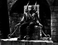 Boris Karloff Photo Large 11x14 - Frankenstein 1931  Universal Monster  B&W