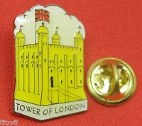 TOWER OF LONDON LAPEL HAT TIE CAP PIN BADGE UK LONDON GB GIFT SOUVENIR BROOCH