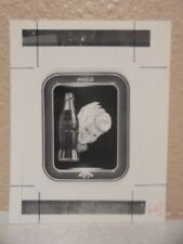Vintage COCA-COLA PHOTO from COLA CALL Vintage Serving Tray Kid