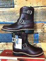 """Chippewa Raynard Boots Cordovan Leather 7"""" NEW Women's SIZE 7 M Made in USA"""