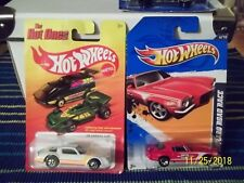 2 - Hot Wheels Camaros 2012s '70 Camaro Road Race & '11 Hot Ones '78 Camaro Z28