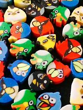20 X Mini Birds Erasers Rubbers Party Bag Loot Bag  Fillers Occasion