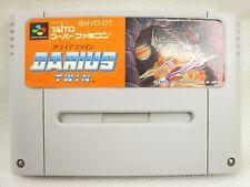 Super Famicom DARIUS TWIN Nintendo Video Game Cartridge Only sfc