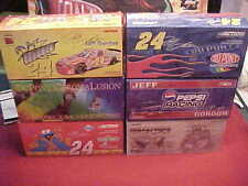 #24 JEFF GORDON 1/24 CW. ACTION CAR LOT 1/2 HALF CASE (SIX 6 CARS) FREE SHIPPING