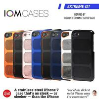 IOM Coolmesh For Apple iPhone 7 8 Protective Slim Cover Shockproof Steel Case