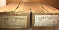 HARVARD CLASSICS Shelf Of Fiction Original Boxes Only No Books 1917