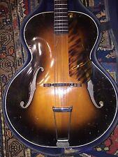 1941 Epiphone Zenith Acoustic Archtop Guitar Original Case Philadelphia Vintage